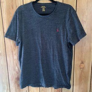 Ralph Lauren large dark grey polo shirt